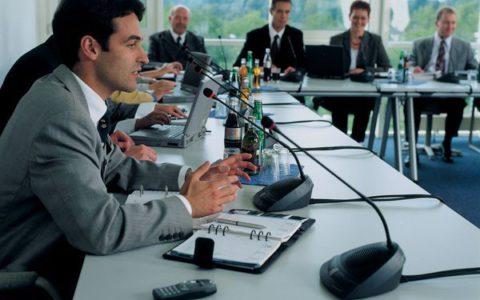 Konferenzanlage Sennheiser