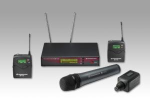 Mikrofontechnik von Sennheiser